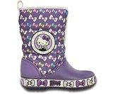 女童欢乐凯蒂猫阵风雪地靴