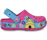女童酷闪小蜜蜂克骆格沙滩凉鞋