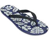 男士女士彩威夷热带风情人字平底沙滩凉拖鞋