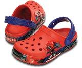 男童变形金刚擎天柱小克骆格沙滩凉鞋